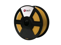 PLA GOLD zlatá C‑TECH, 1,75mm, 1kg