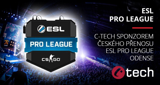 C-tech sponzorem ESL Pro League Odense